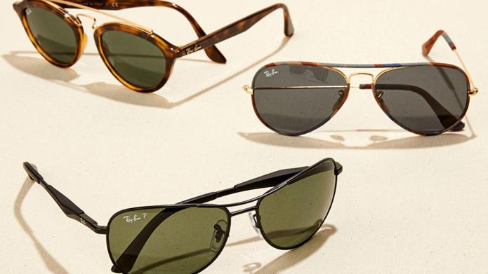แว่นกันแดด Ray-Ban ลดราคา 55%